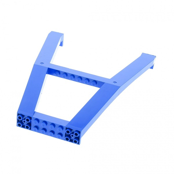 1 x Lego System Kran Stützkran doppel Stand blau Baustelle Stütze Verladekran Säule Träger Gerüst für Set 6600 2635