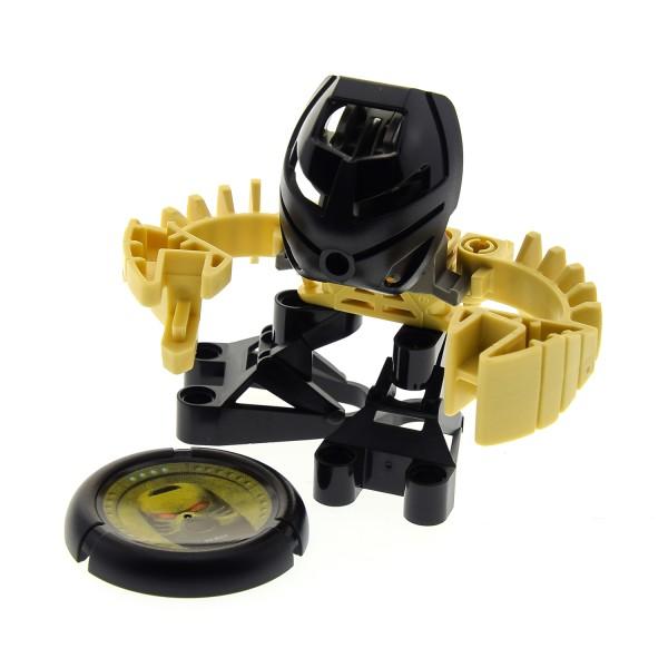 1 x Lego Bionicle Figur für Set Modell Bionicle Tohunga beige Mask Ruru schwarz 8546 32171pb006 ohne CD incomplete unvollständig