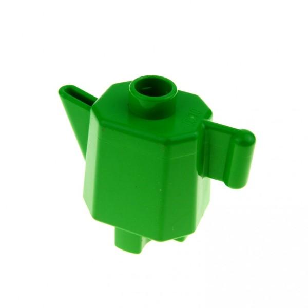 1 x Lego Duplo Geschirr Kanne bright hell grün hoch Kaffee Tee Milch Puppenhaus Wohnzimmer Küche Zubehör Möbel 31041