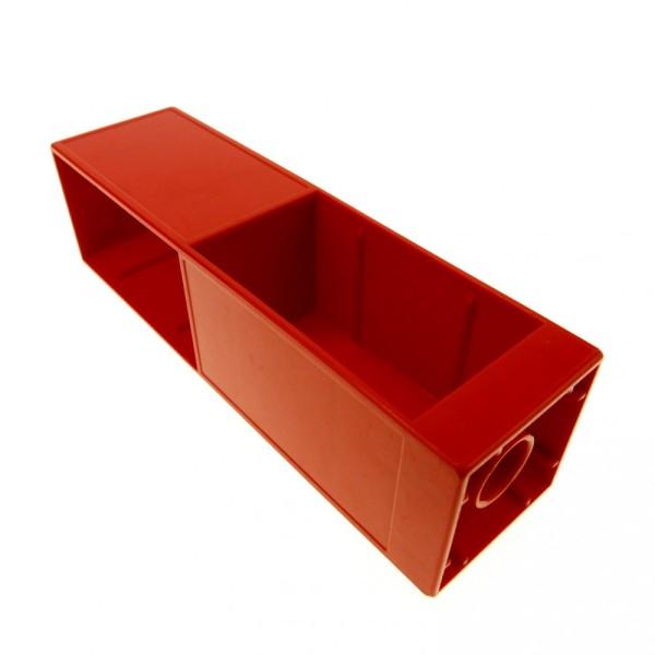 1 x Lego Duplo Möbel Regal rot 2x2x6 Schrank Säule Wohnzimmer Büro Küche Puppenhaus Set 4664 9233 4164492 6462