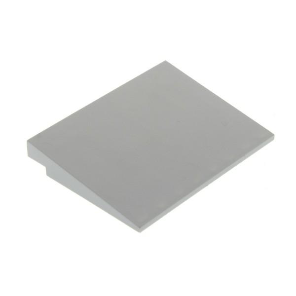 1 x Lego System Dach Stein neu-hell grau 6x8 Dach Rampe Schräg 10° Fliese Platte 7675 10240 76052 75021 4211819 4515