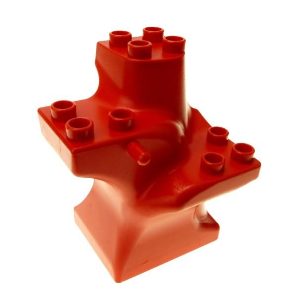1 X Lego Duplo Pflanze Rot Gro 223 Er Baum Stamm Zoo Bahnhof