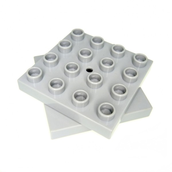 1x Lego Duplo Dreh Platte 4x4 neu-hell grau Stein Drehscheibe Kran 4988 59713c01