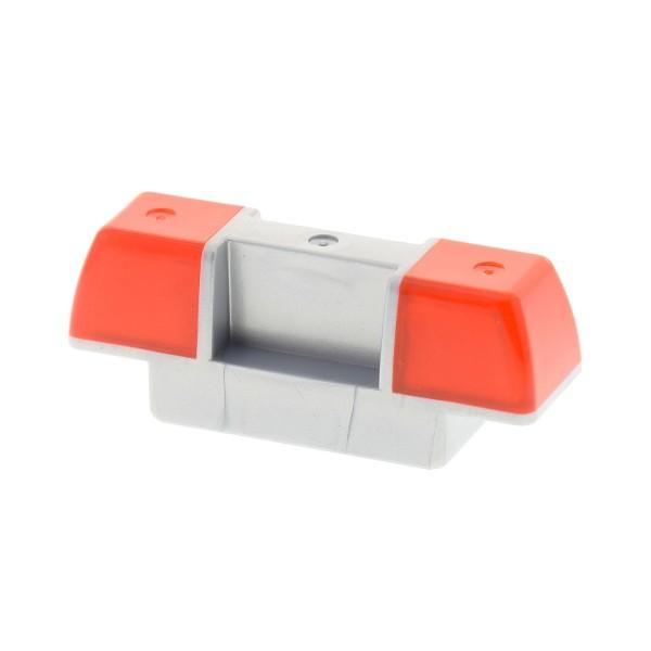 1 x Lego Duplo Auto Sirene Warn Leuchte orange silber perl grau Licht PKW Fahrzeug Polizei Feuerwehr LKW Set 4988 4978 4519404 2318c02