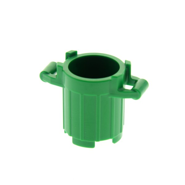 1 x Lego System Tonne klein grün Müll Eimer Behälter Kiste Fass 4645 92926