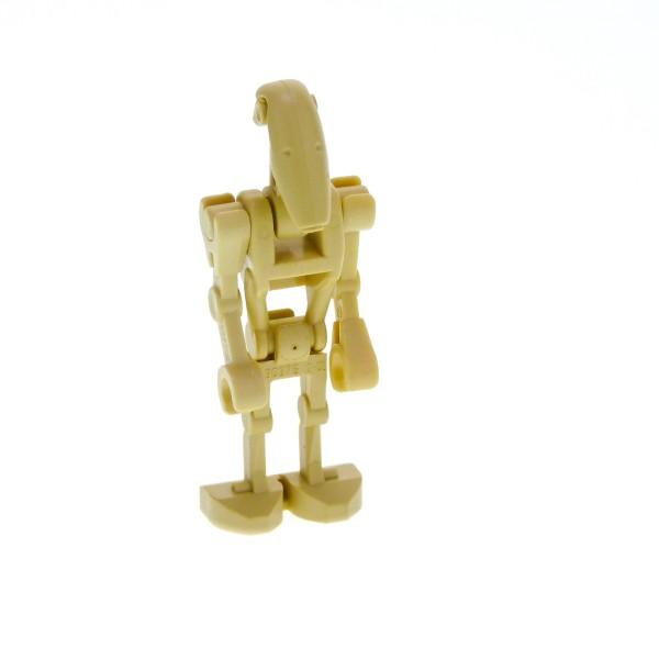 1 x Lego System Figur Droide beige Star Wars Battle Kampf Droid mit 2 Arme abgewinkel für Set 75058 7128 30377 30376 30378 30375 sw001b