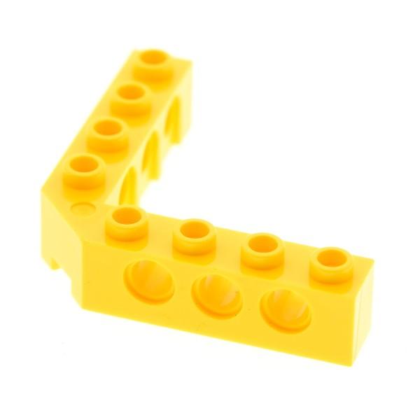 1 x Lego Technic Winkel Rahmen Stein gelb 5x5 rechter Winkel Lochstein Technik Verbinder 10179 7707 10221 10189 10256 7905 10187 852293 4257699 32555