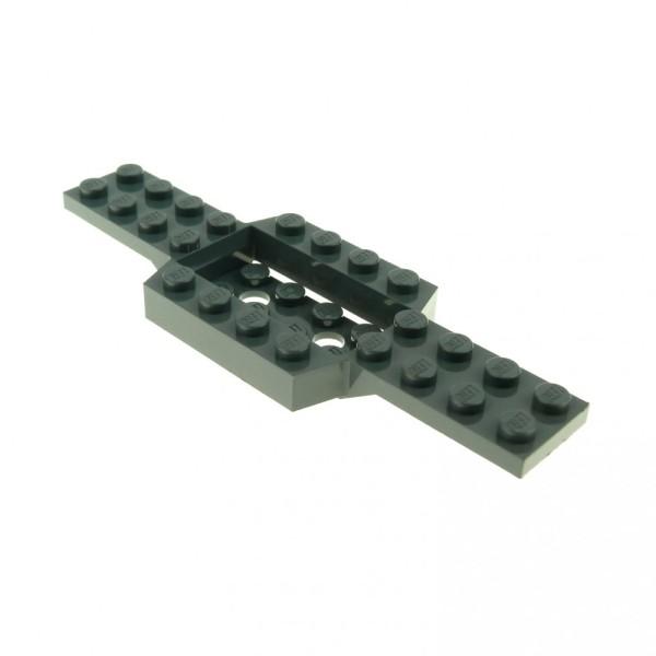 1 x Lego System Fahrgestell neu-dunkel grau 4 x 12 x 3/4 LKW Unterbau Platte Chassis Set 4207 7744 7945 52036