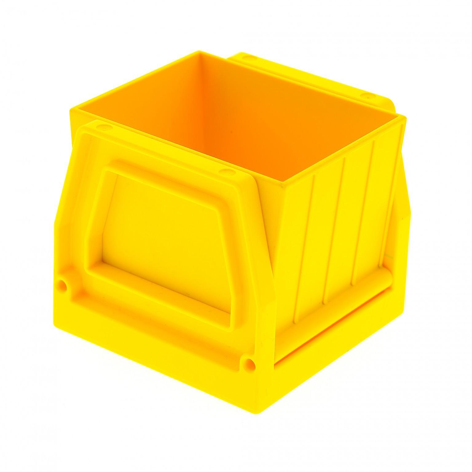 1x Lego Duplo Eisenbahn Aufsatz rot Zug Container rot Schütte Waggon 31301 31303