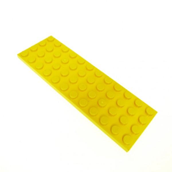 5x Lego Bau Platte gelb 4x6 Set 3826 7630 21101 8043 303224 3032