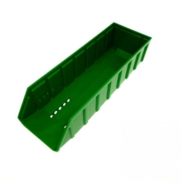 1 x Lego System Kipper Auflage grün 24 x 7 LKW Kipp Laster Kipper Mulde Tipper Bed 7998 57781
