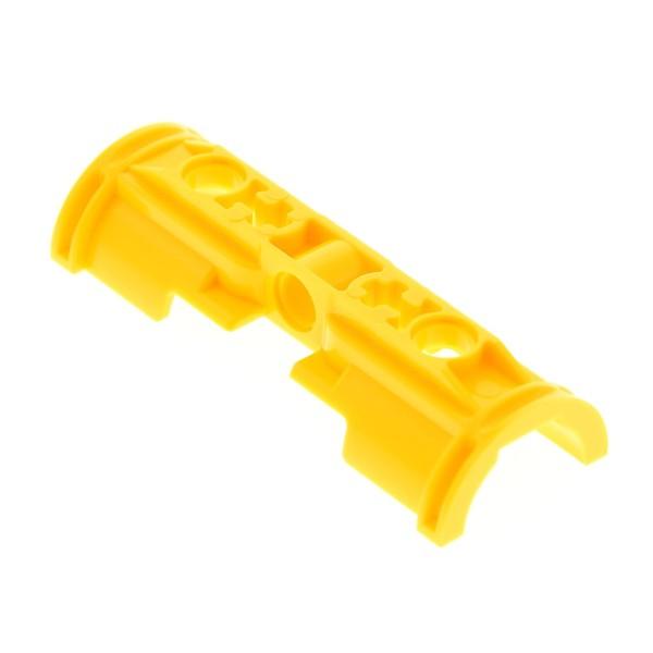 1 x Lego Technic Pneumatic Zylinder Halter gelb eine Hälfte Halterung Pneumatik Set 8421 8275 4267463 53178