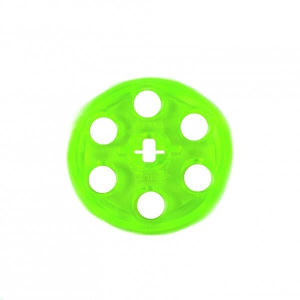 3 x grüne Riemenscheibe transparent bright hell grün Technik Technic 4185 Lego B31