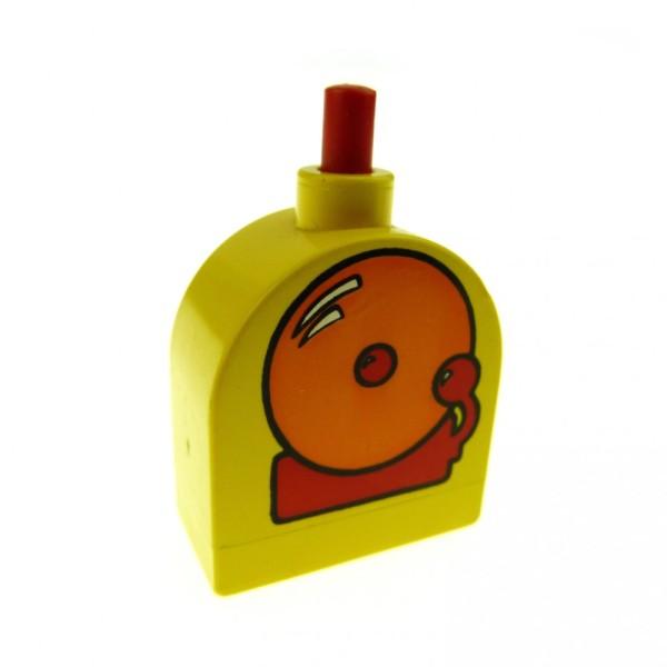 1 x Lego Duplo Möbel Klingel gelb orange rot Glocke Gong Schule Feuerwehr Polizei Puppenhaus mechanisch x836cx1