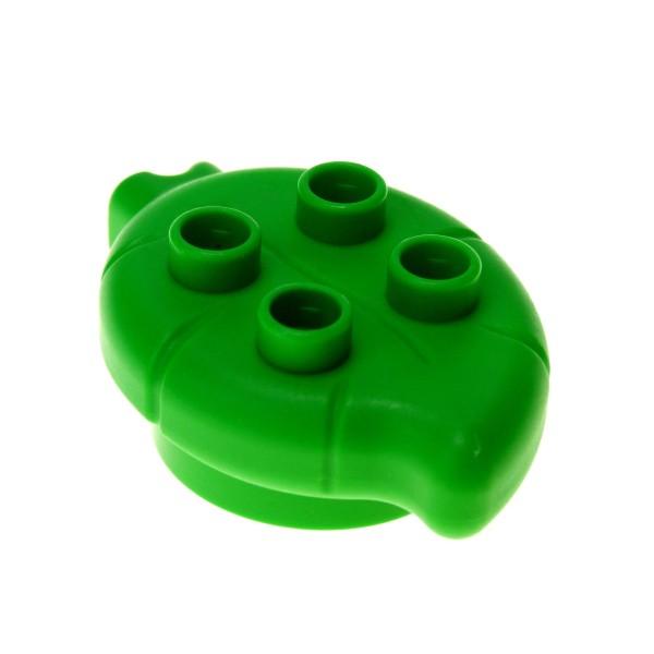 1 x Lego Duplo Pflanze Blatt bright hell grün für Baum Blume Little Forest Friends 31220