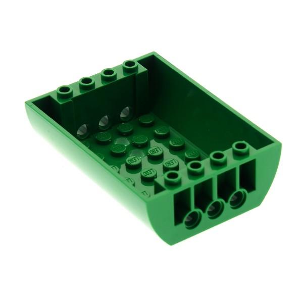 1 x Lego System Rumpf grün 8 x 6 x 2 Boden Tank Wagen Set 3180 60016 79120 45410