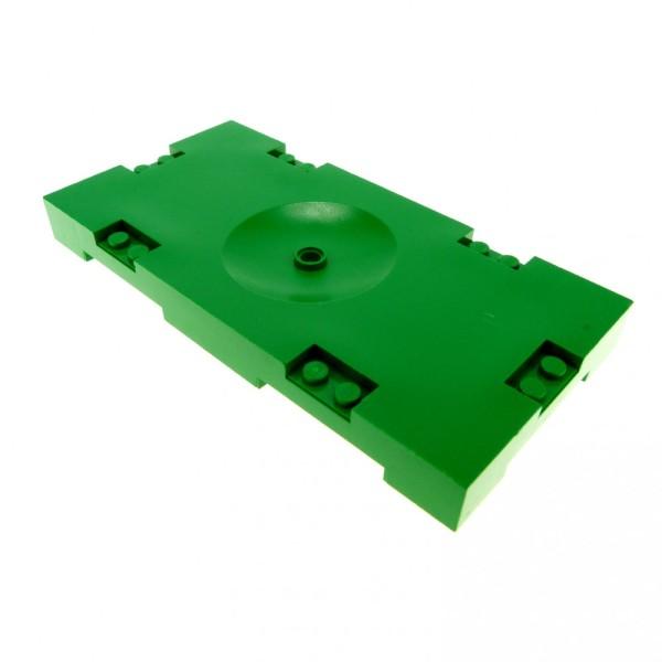 6 x Lego System Spielfeld grün 8 x 16 Fußball Soccer Rasen Loch für Halterung Platte Sports Field 30489
