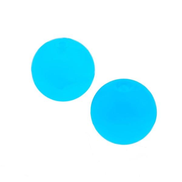 2 x Lego Bionicle Ball Bälle transparent medium hell blau Kugel Perle Zubehör Monition Wurf Geschoss Zamor Sphere 4296577 54821