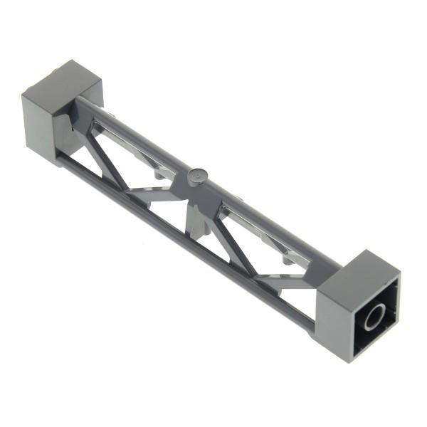 1 x Lego System Stütze neu-dunkel grau 2x2x10 Säule Pfeiler Träger Pillar Girder Triangular Vertical - Type 3 8077 4210 10181 4509668 58827