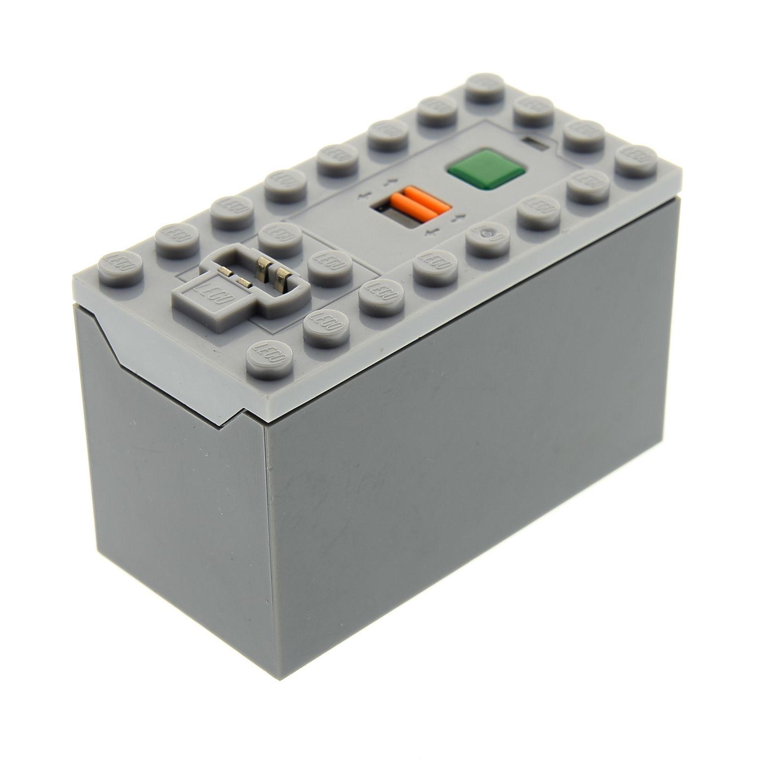 1x Lego Technic Batteriekasten grau 9V Battery Box geprüft 4578042 87513c01