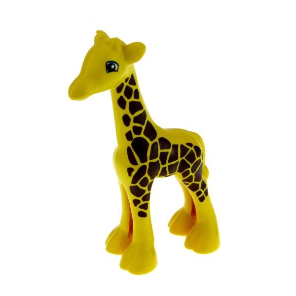 1 x Lego Duplo Tier kleine Giraffe gelb mit vielen Punkten Baby Zoo klein für Set 6144 45012 4536269 bb443c01pb01