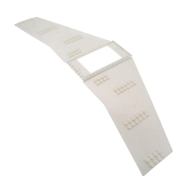 1 x Lego System Tragfläche weiss 20x56 mit 6x10 Ausschnitt für Flugzeug Flügel Platte Wing für Set 7644 7893 54093