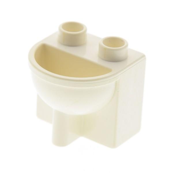1 X Lego Duplo Mobel Waschbecken B Ware Abgenutzt Weiss Puppenhaus Badezimmer Bad 4892 Steinpalast