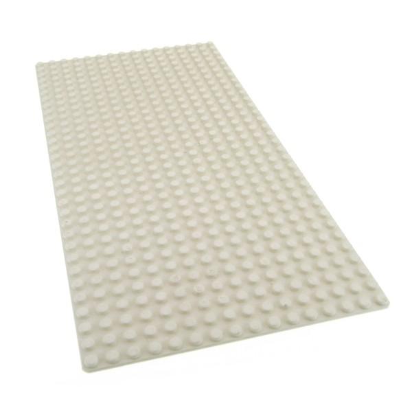 1 x Lego System Bau Basic Platte weiss flach 32x16 Noppen 16x32 Schnee für Set Orient Expedition Ice Planet 2002 Avatar Ferrari 4219635 3857 2748