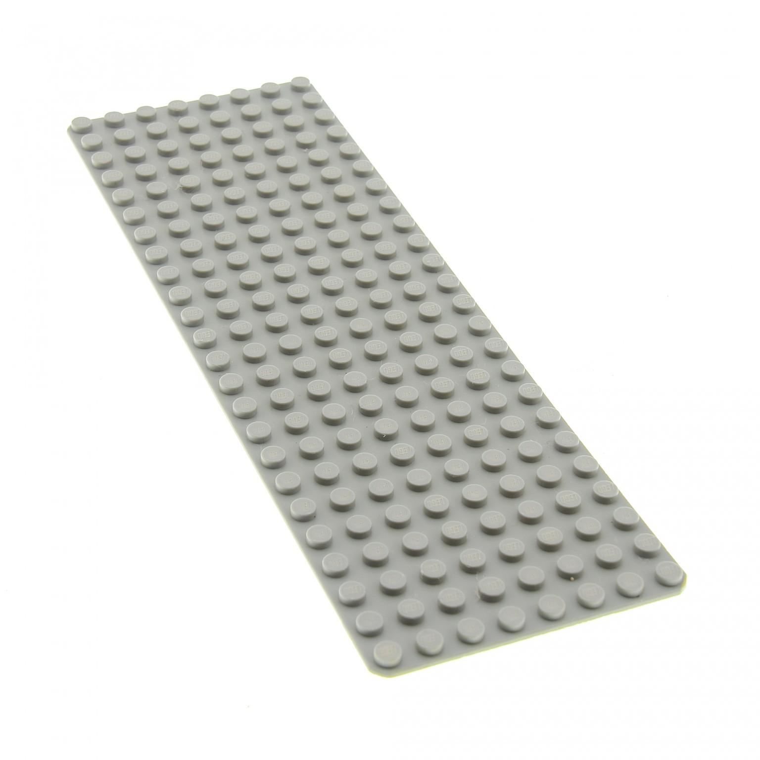 LEGO Platte 24x24 Noppen Wasser blau blue baseplate with studs on edges 367