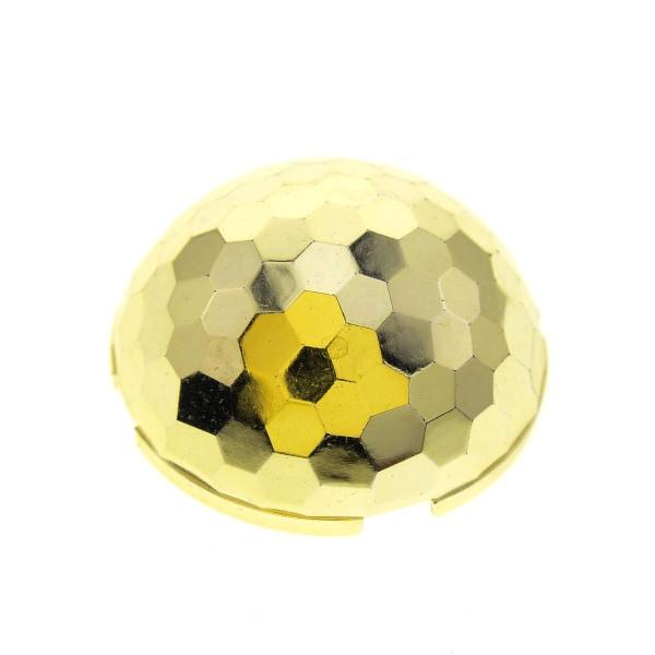 1x Lego Kuppel gold rund 4x4 halb Kugel Hemisphäre Space Star Wars 71967 30208