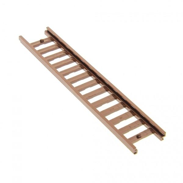 1 x Lego System Leiter braun 14x2.5 Ladder Sprossen Treppe für Set 6071 4588 6061 4207