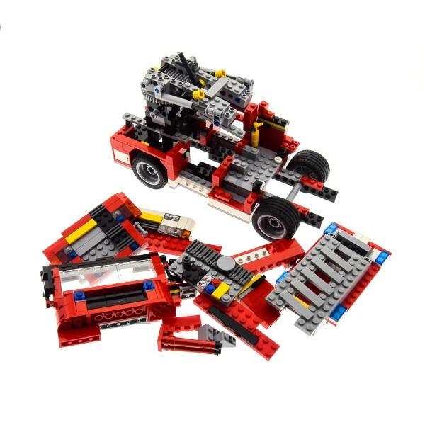 1 x Lego System Teile Set Creator Modell 6752 Löschzug rot Auto Feuerwehr Truck mit Leiter (3in1) incomplete unvollständig