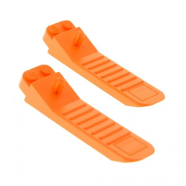 2 x Lego System Steinlöser orange Stein Trennhilfe Trenner Werkzeug Steinetrenner Brick Separator Set Star Wars 75147 96874