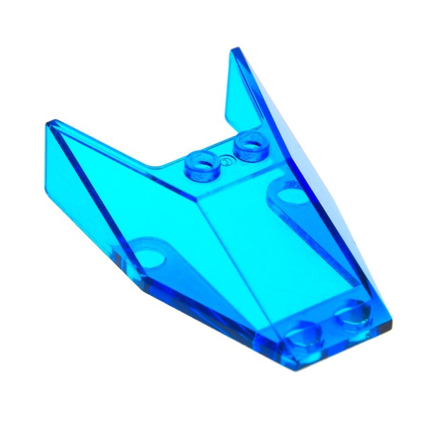 1 x Lego System Cockpit transparent dunkel blau 6x4x1 1/3 windscreen Kanzel Fenster 6456 1351 6597 6152