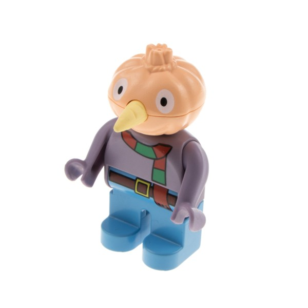 1x Lego Duplo Figur Mann Knolle die Vogelscheuche Bob der Baumeister 4555pb082