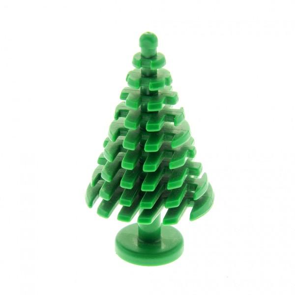 1 x Lego System Pflanze grün Tanne Pinie groß 4 x 4 x 6 2/3 Nadel Baum abgerundet City Tannenbaum 52211 3471
