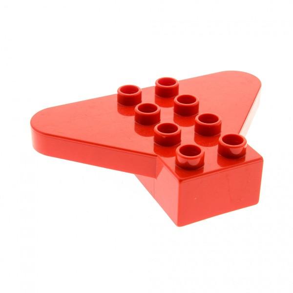1 x Lego Duplo Flügel Stein rot 2x4 Flugzeug Little Friends Set 9230 3264 31215