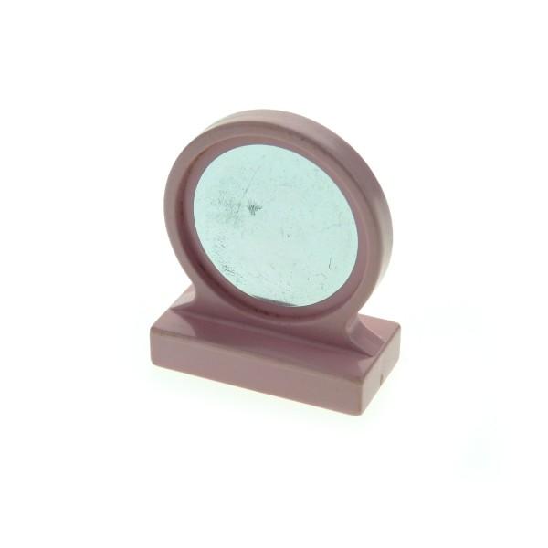 1 x Lego Duplo Möbel Spiegel rosa pink Puppenhaus Bad Badezimmer Mirror für Set 2780 4909