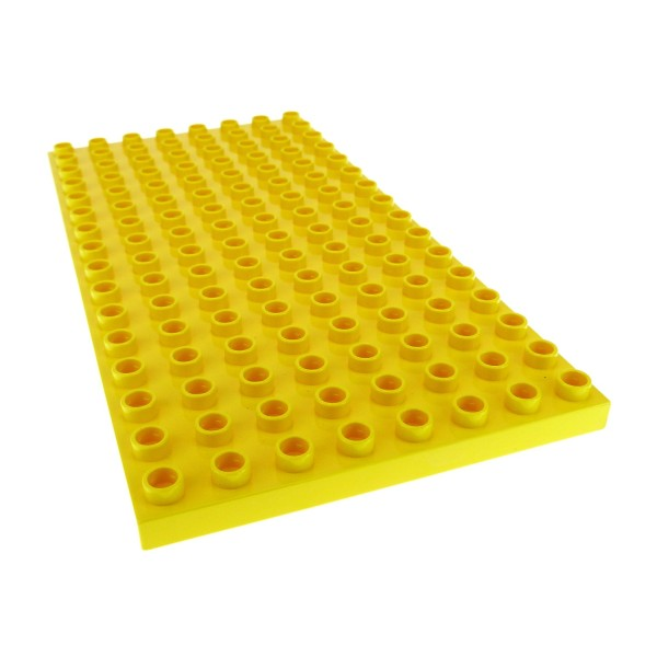 1x Lego Duplo Basic Bau Platte gelb 8x16 Bauernhof 4112067 6490 61310