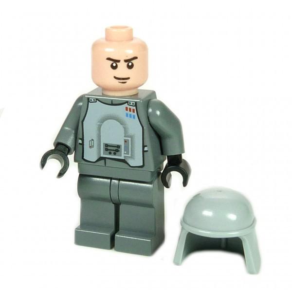000 Lego Star Wars Figur AT-AT Imperialer Commander General Veers 8129 F84