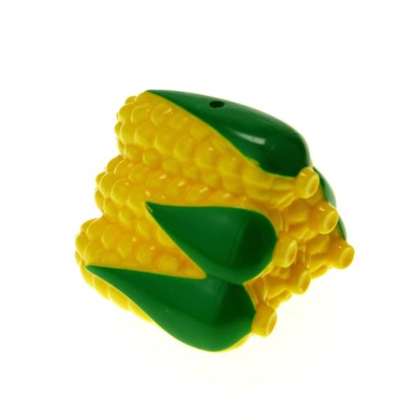 1 x Lego Duplo Pflanze Mais Kolben grün gelb Gemüse Corn Zoo Farm Futter Nahrung Bauernhof 4142839 23233