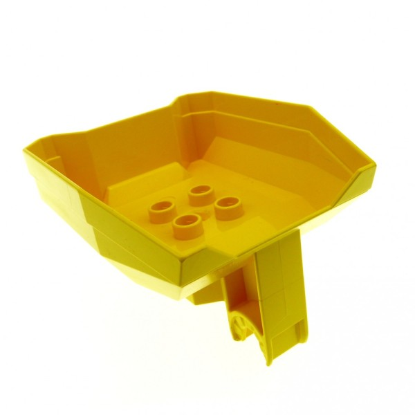 1 x Lego Duplo Toolo Kipper Aufsatz gelb Ladefläche Stein LKW Bagger 6311