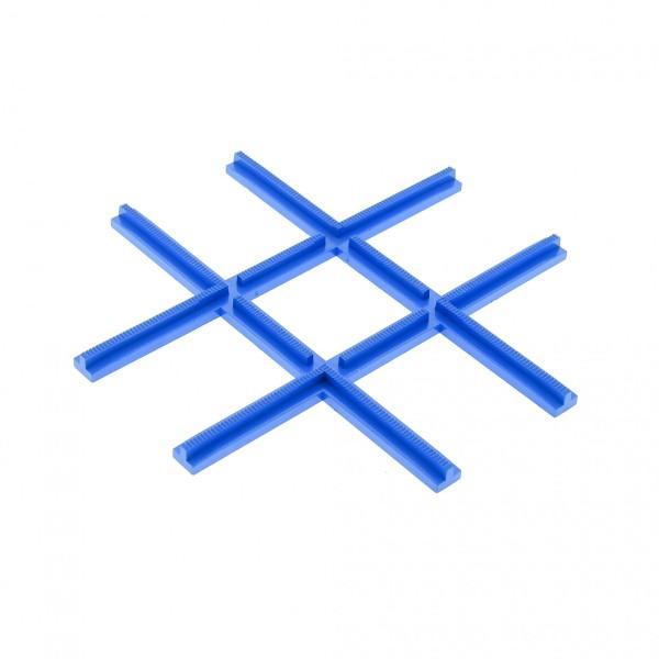 1 x Lego System Eisenbahn Schiene B-Ware abgenutzt Kreuzung 4,5 v blau Zug Kreuz Gleis Train Track Crossing für Set 155 159 3231