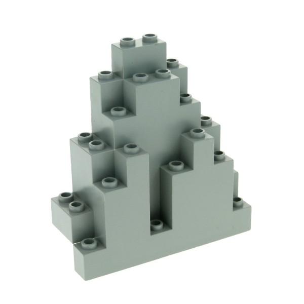 1 x Lego System Fels alt-hell grau Felsen Stein Berg für Set Western Dragon Knights Spyrius Harry Potter 6083