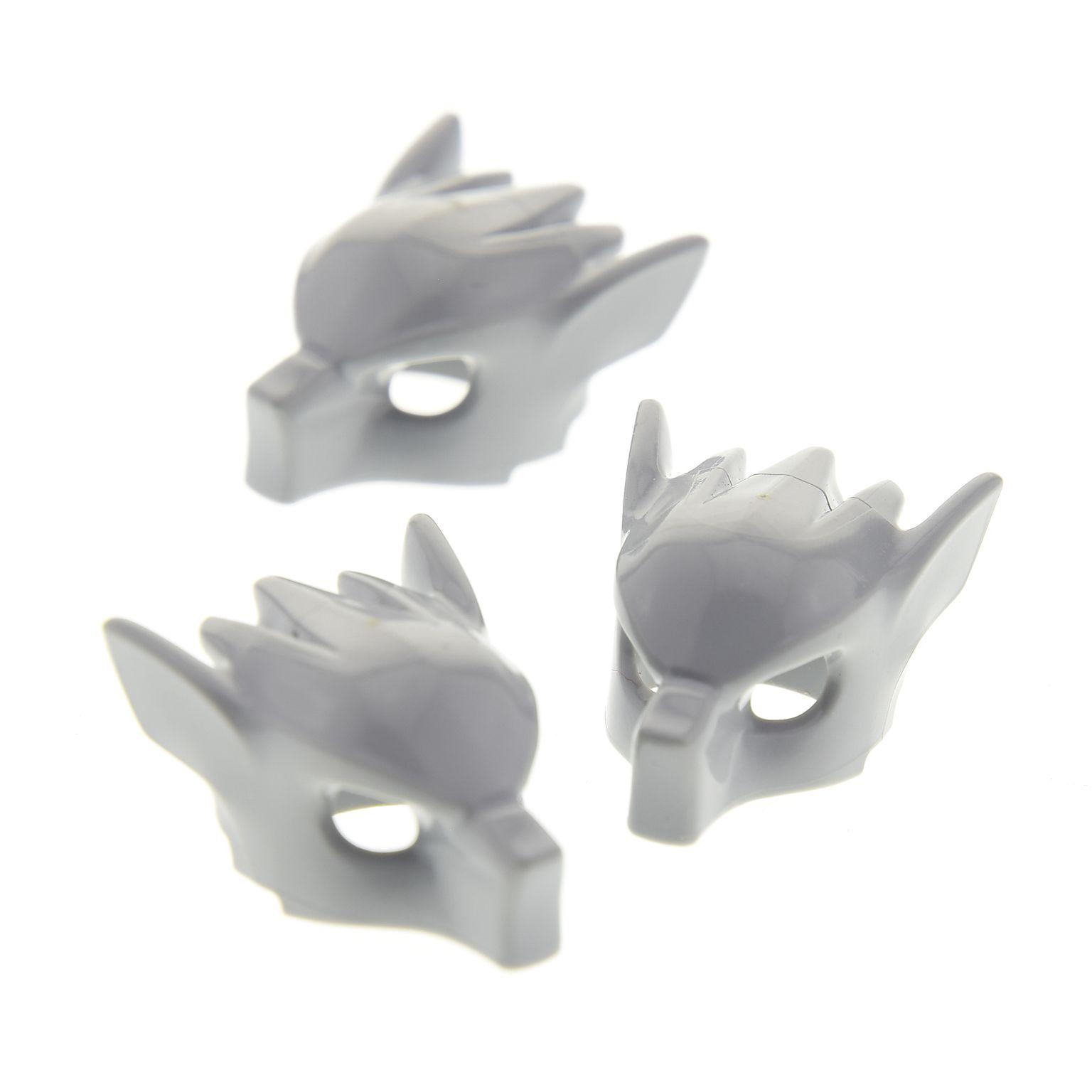 2643 EA Lego Figur Zubehör Kopfbedeckung Wolf