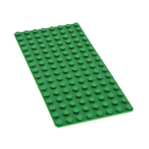 1x Lego Bau Platte grün 8x16 flach Grund Basic Bauplatte 4219812 3865