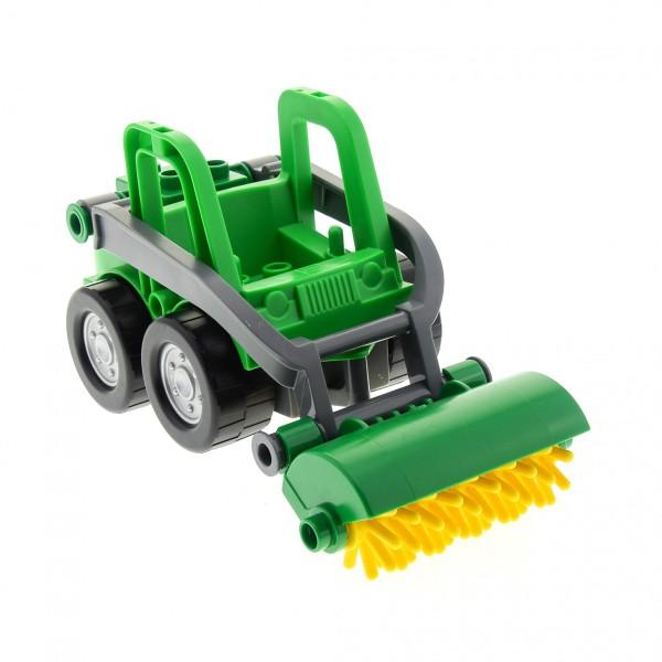 1x Lego Duplo Kehrmaschine hell grün Bauernhof Traktor 41927 40637 59389c01
