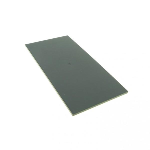 1 x Lego System Platte Fliese neu-dunkel grau 16 x 8 City Schwertransporter flach Bauplatte für Set 7900 7783 48288