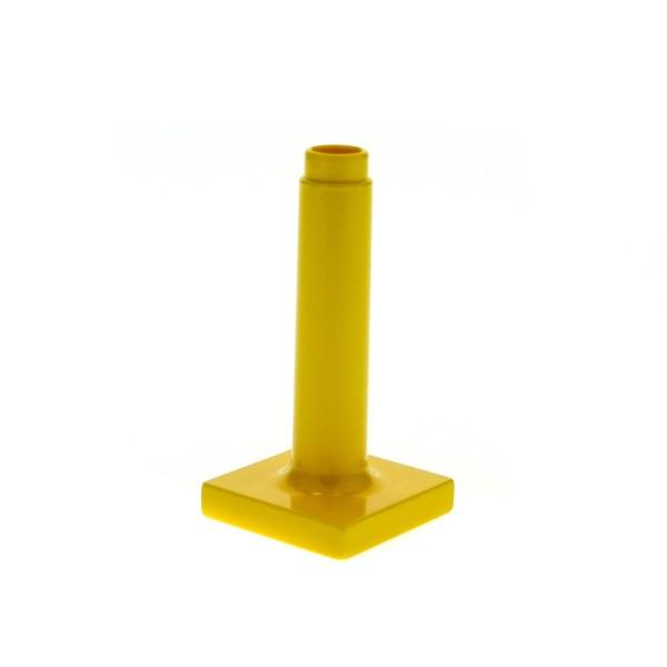 1 x Lego Duplo Möbel Schirm Ständer gelb gross hoch Puppenhaus 4913