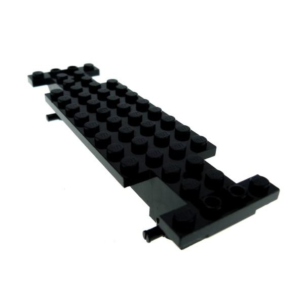 1 x Lego System Fahrgestell schwarz 4x14x1 2/3 LKW Unterbau Bau Platte Auto Chassis 30262